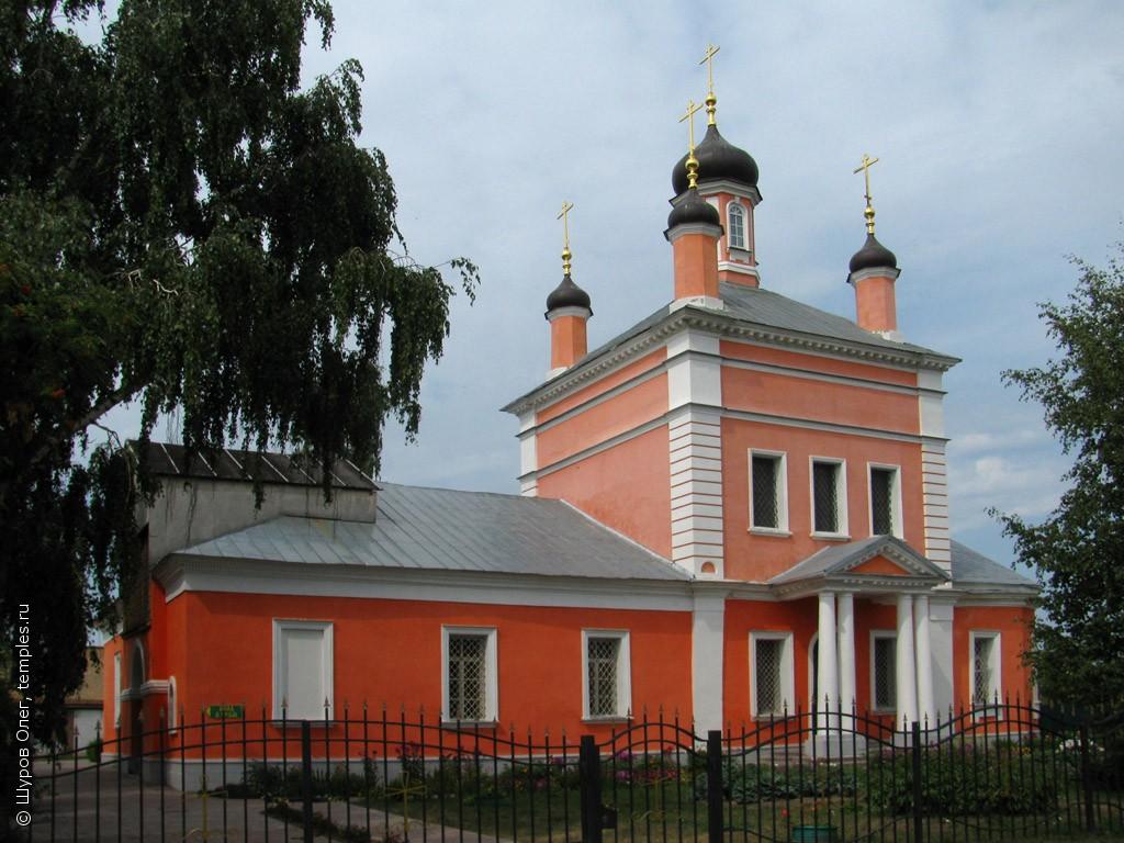 Храм: Борисоглебский храм г. Коломны